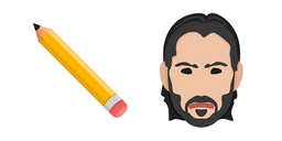 John Wick Pencil Cursor