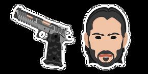 John Wick TTI STI Combat Master Gun Cursor