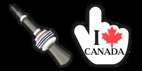 Canada CN Tower Curseur
