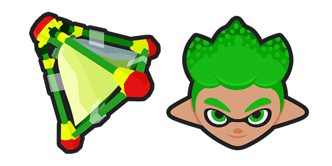 Splatoon 2 Green Inkling Splat Bomb