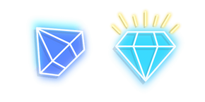 Курсор Blue Diamond Neon
