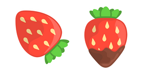 Strawberry with Chocolate Cursor