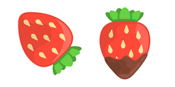 Strawberry with Chocolate Cursor