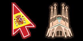 Spain la Sagrada Familia Cursor