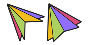 Colored Triangles Cursor