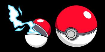 Pokemon Pokeball Cursor