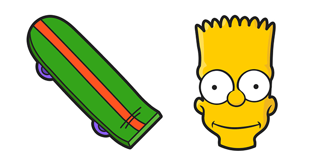 The Simpsons Bart Skateboard