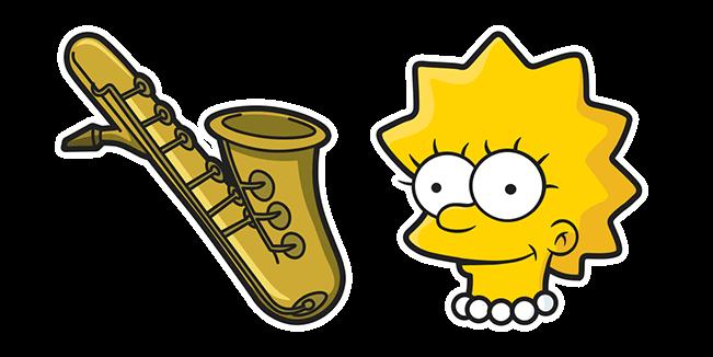 The Simpsons Lisa Saxophone