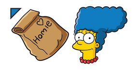 The Simpsons Marge Homie Dinner Curseur