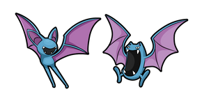 Pokemon Zubat and Golbat Curseur