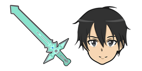 Sword Art Online Kirito Dark Repulser Sword Curseur
