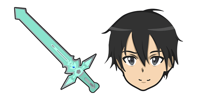 Sword Art Online Kirito Dark Repulser Sword