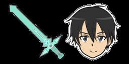 Sword Art Online Kirito Dark Repulser Sword Curseur
