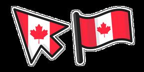 Canada Flag Curseur