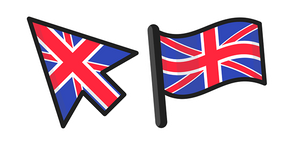 United Kingdom Flag Curseur