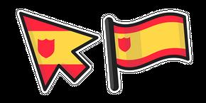 Spain Flag Curseur