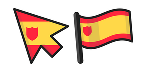 Spain Flag Cursor