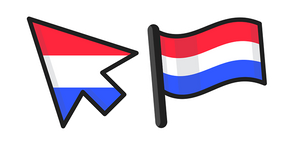 Netherlands Flag Curseur