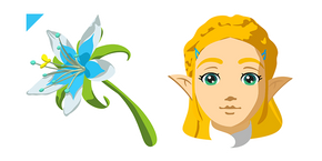 The Legend of Zelda Princess Zelda Curseur