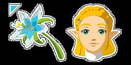 The Legend of Zelda Princess Zelda Curseur