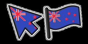 New Zealand Flag Curseur