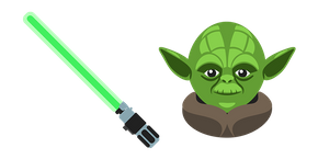 Курсор Star Wars Yoda Lightsaber