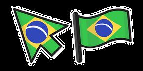 Курсор Brazil Flag