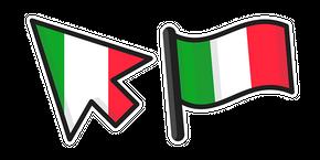 Курсор Italy Flag