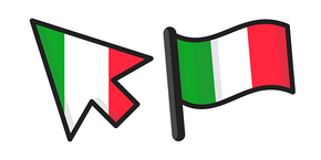 Italy Flag Cursor