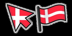 Курсор Denmark Flag