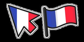 France Flag Curseur