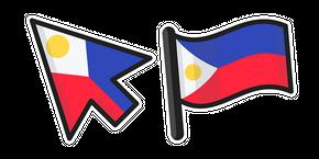 Philippines Flag Curseur