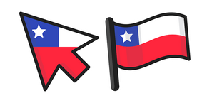 Chile Flag Cursor