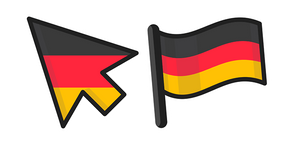 Germany Flag Curseur