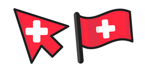 Switzerland Flag Curseur