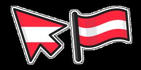 Austria Flag Cursor