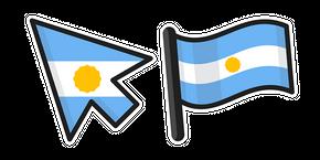 Курсор Argentina Flag
