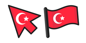 Turkey Flag Cursor