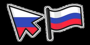 Russia Flag Curseur