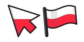 Poland Flag Cursor