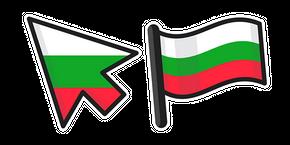 Bulgaria Flag Curseur
