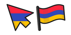 Armenia Flag Cursor
