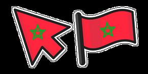 Morocco Flag Curseur