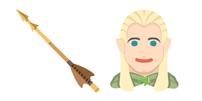 Курсор Lord of the Rings Legolas