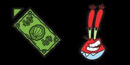 SpongeBob Mr. Krabs Dollar Cursor
