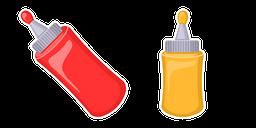 Ketchup and Mustard Cursor