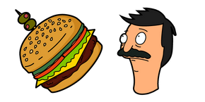 Bob's Burgers Bob and Burger Cursor