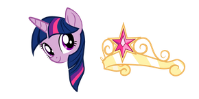 My Little Pony Twilight Sparkle Crown Curseur