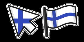 Finland Flag Curseur