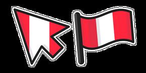 Peru Flag Cursor